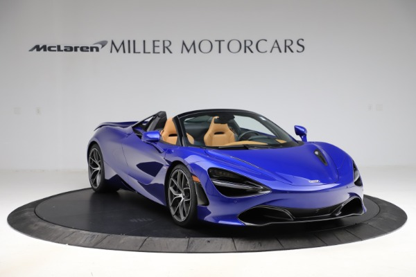 New 2020 McLaren 720S SPIDER Convertible for sale $374,830 at Alfa Romeo of Westport in Westport CT 06880 11