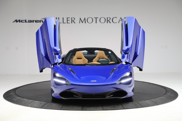 New 2020 McLaren 720S SPIDER Convertible for sale $374,830 at Alfa Romeo of Westport in Westport CT 06880 13