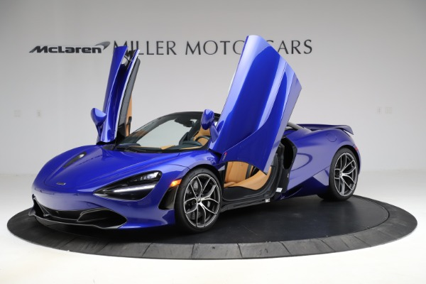 New 2020 McLaren 720S SPIDER Convertible for sale $374,830 at Alfa Romeo of Westport in Westport CT 06880 14