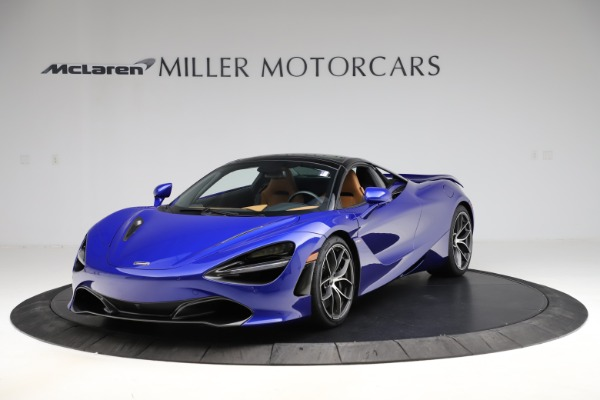 New 2020 McLaren 720S SPIDER Convertible for sale $374,830 at Alfa Romeo of Westport in Westport CT 06880 16