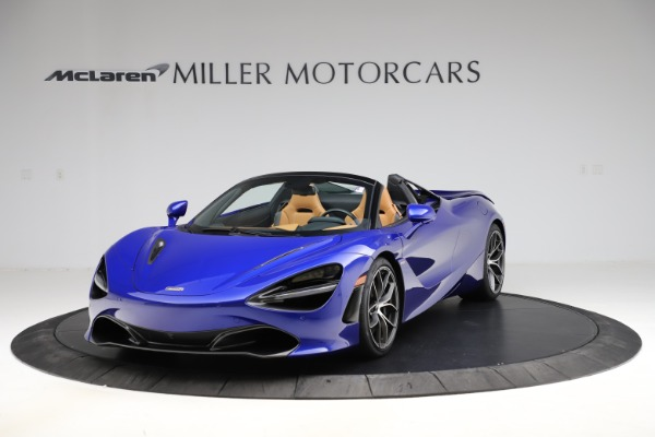 New 2020 McLaren 720S SPIDER Convertible for sale $374,830 at Alfa Romeo of Westport in Westport CT 06880 2