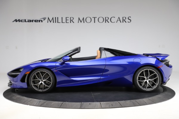 New 2020 McLaren 720S SPIDER Convertible for sale $374,830 at Alfa Romeo of Westport in Westport CT 06880 3