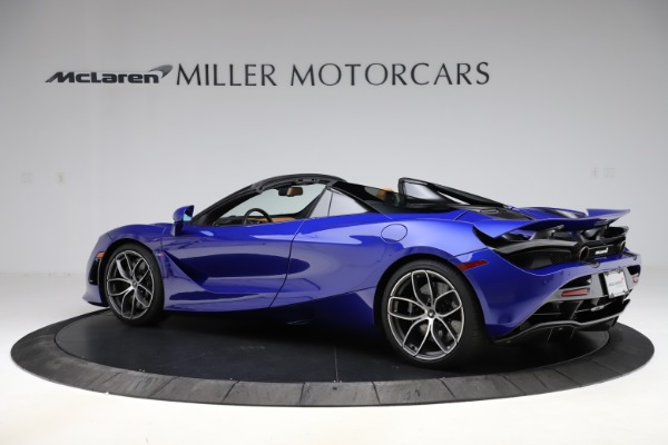 New 2020 McLaren 720S SPIDER Convertible for sale $374,830 at Alfa Romeo of Westport in Westport CT 06880 4