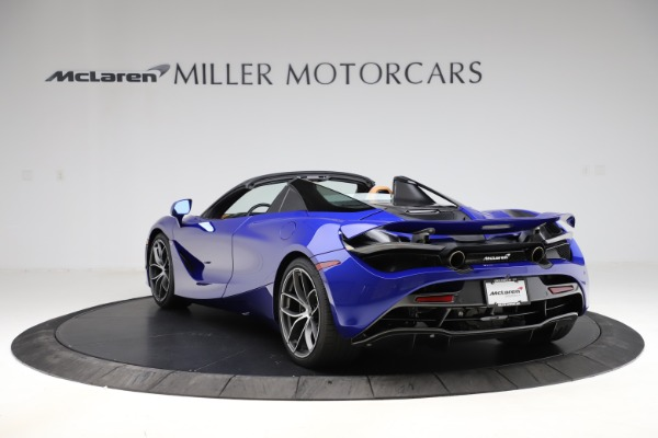 New 2020 McLaren 720S SPIDER Convertible for sale $374,830 at Alfa Romeo of Westport in Westport CT 06880 5