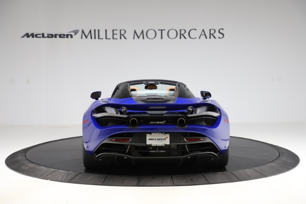 New 2020 McLaren 720S SPIDER Convertible for sale $374,830 at Alfa Romeo of Westport in Westport CT 06880 6