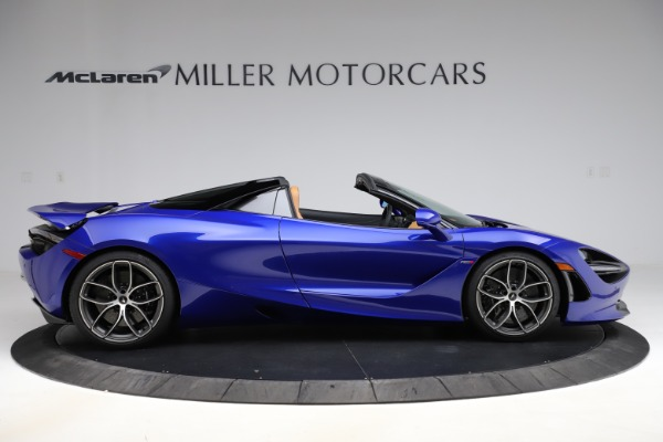 New 2020 McLaren 720S SPIDER Convertible for sale $374,830 at Alfa Romeo of Westport in Westport CT 06880 9