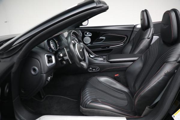 New 2020 Aston Martin DB11 Convertible for sale Sold at Alfa Romeo of Westport in Westport CT 06880 20