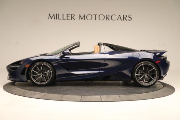 New 2020 McLaren 720S Spider for sale $372,250 at Alfa Romeo of Westport in Westport CT 06880 2
