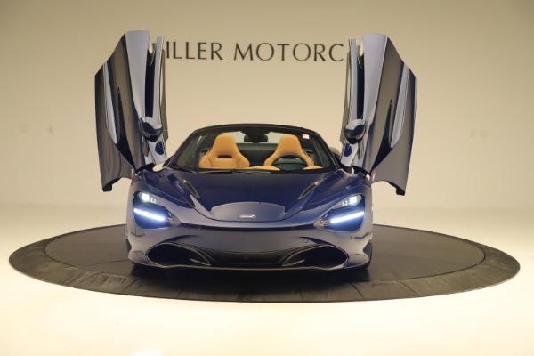 New 2020 McLaren 720S Spider Convertible for sale $372,250 at Alfa Romeo of Westport in Westport CT 06880 27