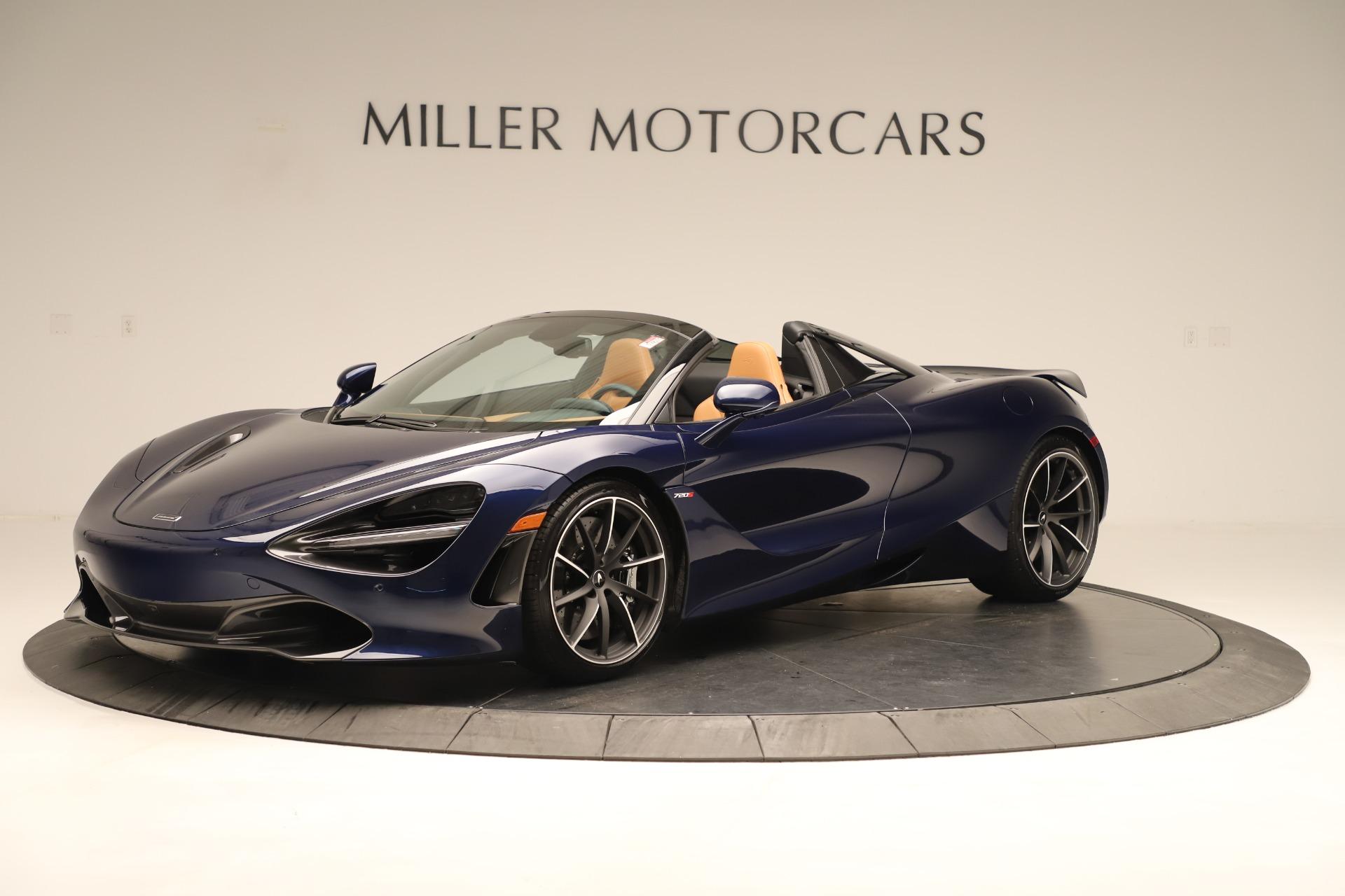 New 2020 McLaren 720S Spider Convertible for sale $372,250 at Alfa Romeo of Westport in Westport CT 06880 1