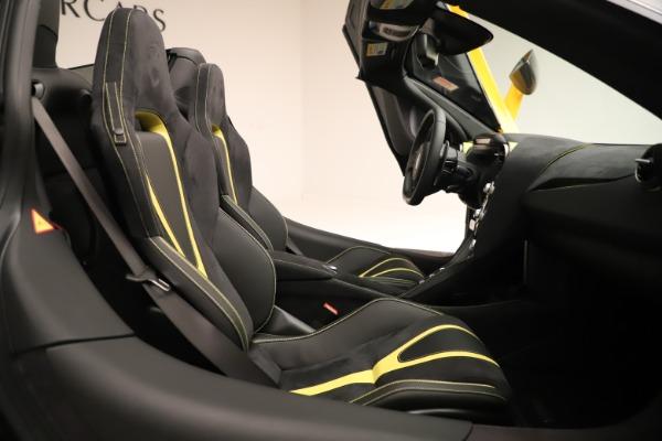 New 2020 McLaren 720S SPIDER Convertible for sale Sold at Alfa Romeo of Westport in Westport CT 06880 25