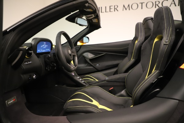 New 2020 McLaren 720S SPIDER Convertible for sale Sold at Alfa Romeo of Westport in Westport CT 06880 27