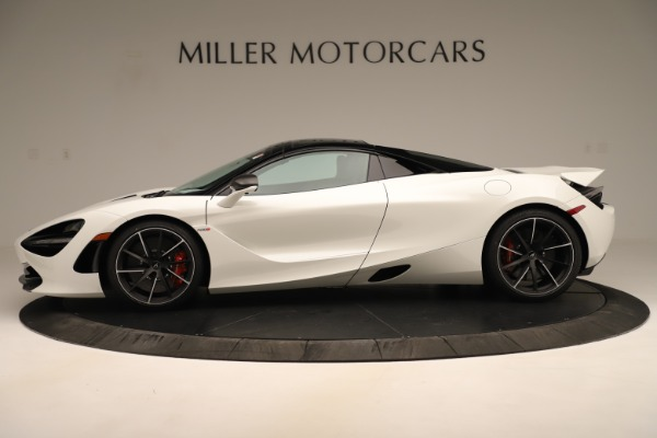 New 2020 McLaren 720S SPIDER Convertible for sale $389,940 at Alfa Romeo of Westport in Westport CT 06880 3