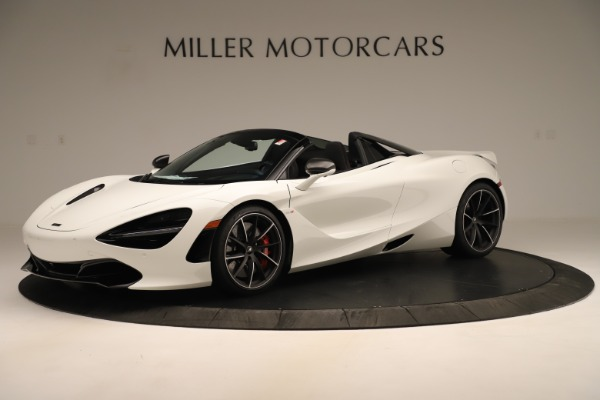 New 2020 McLaren 720S SPIDER Convertible for sale $389,940 at Alfa Romeo of Westport in Westport CT 06880 1