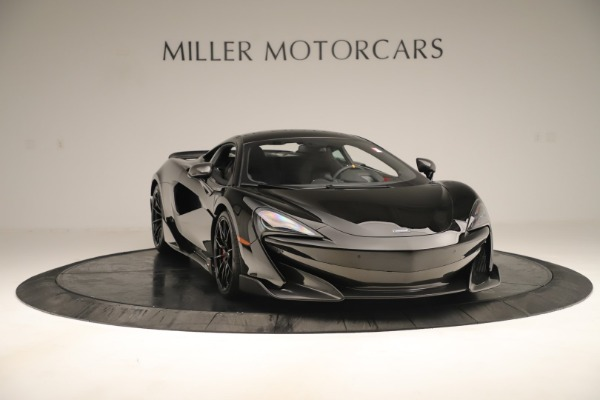 New 2019 McLaren 600LT Coupe for sale $278,790 at Alfa Romeo of Westport in Westport CT 06880 10