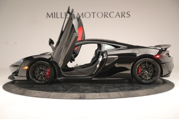 New 2019 McLaren 600LT Coupe for sale $278,790 at Alfa Romeo of Westport in Westport CT 06880 14