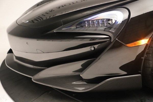New 2019 McLaren 600LT Coupe for sale $278,790 at Alfa Romeo of Westport in Westport CT 06880 19