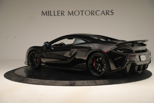 New 2019 McLaren 600LT Coupe for sale $278,790 at Alfa Romeo of Westport in Westport CT 06880 3