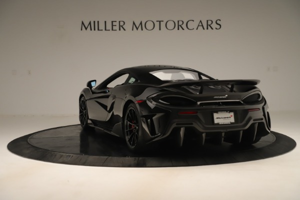 New 2019 McLaren 600LT Coupe for sale $278,790 at Alfa Romeo of Westport in Westport CT 06880 4