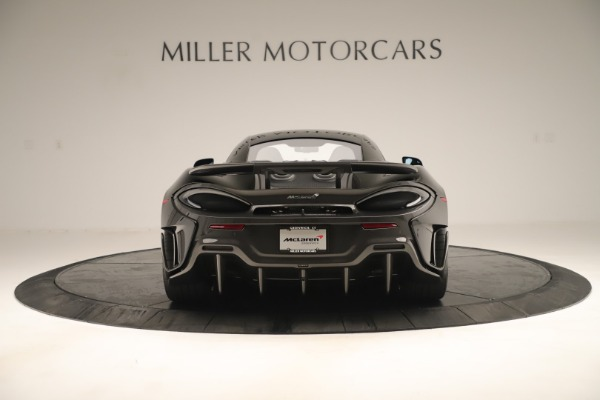 New 2019 McLaren 600LT Coupe for sale $278,790 at Alfa Romeo of Westport in Westport CT 06880 5