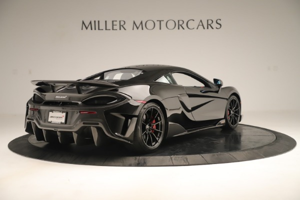 New 2019 McLaren 600LT Coupe for sale $278,790 at Alfa Romeo of Westport in Westport CT 06880 6