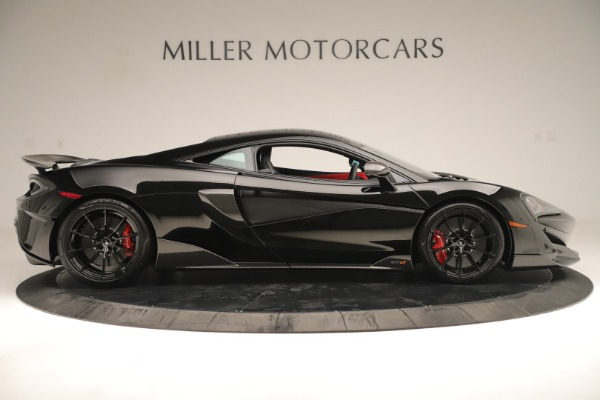 New 2019 McLaren 600LT Coupe for sale $278,790 at Alfa Romeo of Westport in Westport CT 06880 8