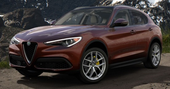 New 2019 Alfa Romeo Stelvio Ti Lusso Q4 for sale $55,490 at Alfa Romeo of Westport in Westport CT 06880 1