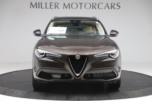 New 2019 Alfa Romeo Stelvio Ti Lusso Q4 for sale Sold at Alfa Romeo of Westport in Westport CT 06880 12