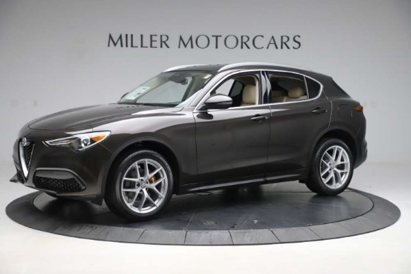 New 2019 Alfa Romeo Stelvio Ti Lusso Q4 for sale Sold at Alfa Romeo of Westport in Westport CT 06880 2