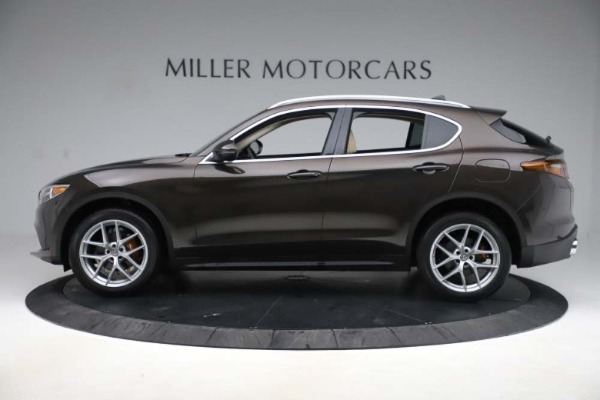 New 2019 Alfa Romeo Stelvio Ti Lusso Q4 for sale Sold at Alfa Romeo of Westport in Westport CT 06880 3