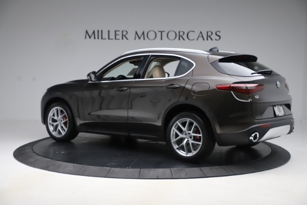 New 2019 Alfa Romeo Stelvio Ti Lusso Q4 for sale Sold at Alfa Romeo of Westport in Westport CT 06880 4