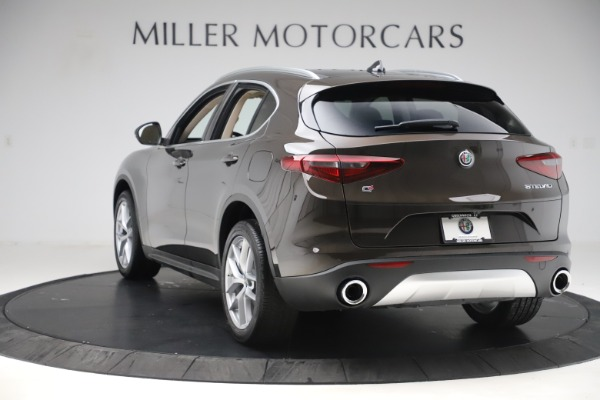 New 2019 Alfa Romeo Stelvio Ti Lusso Q4 for sale Sold at Alfa Romeo of Westport in Westport CT 06880 5