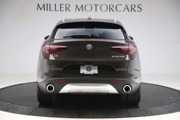 New 2019 Alfa Romeo Stelvio Ti Lusso Q4 for sale Sold at Alfa Romeo of Westport in Westport CT 06880 6