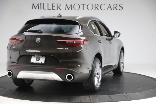 New 2019 Alfa Romeo Stelvio Ti Lusso Q4 for sale Sold at Alfa Romeo of Westport in Westport CT 06880 7