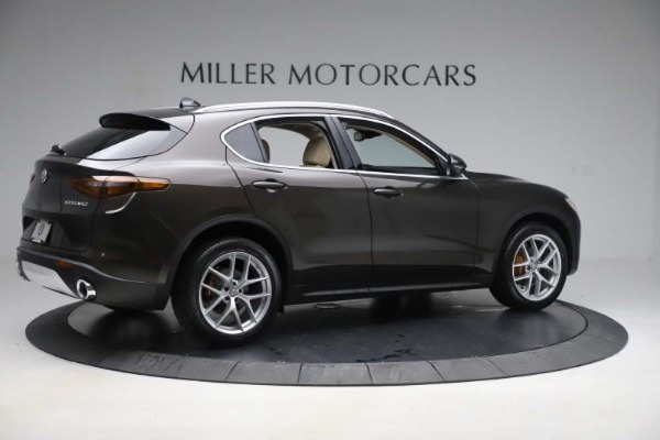 New 2019 Alfa Romeo Stelvio Ti Lusso Q4 for sale Sold at Alfa Romeo of Westport in Westport CT 06880 8