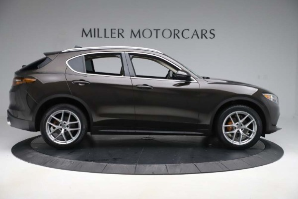 New 2019 Alfa Romeo Stelvio Ti Lusso Q4 for sale Sold at Alfa Romeo of Westport in Westport CT 06880 9