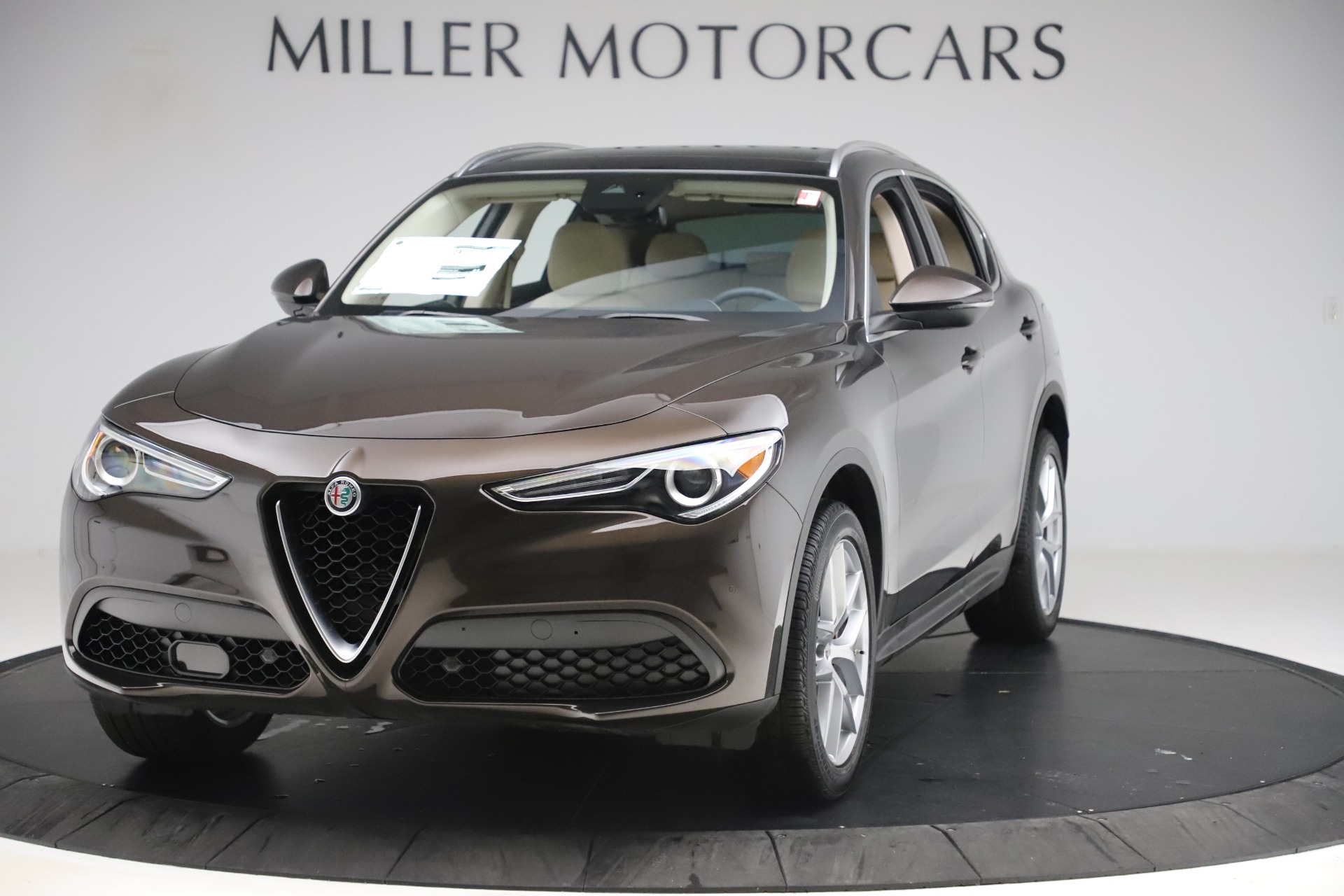 New 2019 Alfa Romeo Stelvio Ti Lusso Q4 for sale Sold at Alfa Romeo of Westport in Westport CT 06880 1