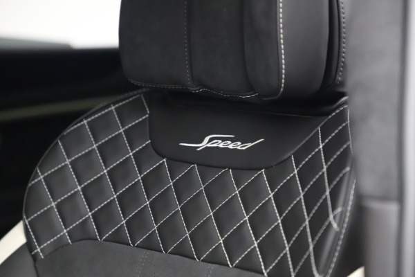 New 2020 Bentley Bentayga Speed for sale $259,495 at Alfa Romeo of Westport in Westport CT 06880 20