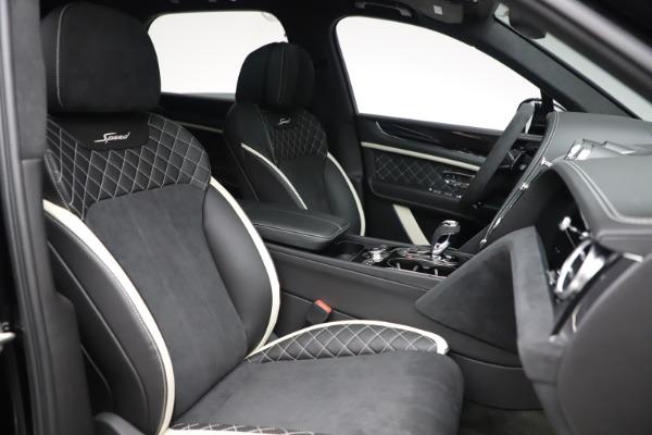 New 2020 Bentley Bentayga Speed for sale $259,495 at Alfa Romeo of Westport in Westport CT 06880 26