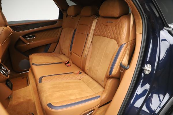 New 2020 Bentley Bentayga Speed for sale Sold at Alfa Romeo of Westport in Westport CT 06880 26