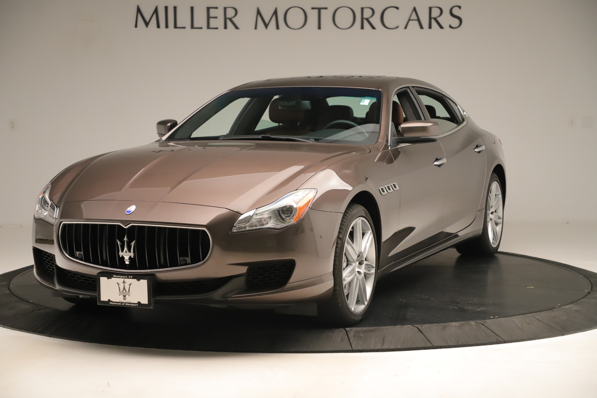 Used 2014 Maserati Quattroporte S Q4 for sale Sold at Alfa Romeo of Westport in Westport CT 06880 1