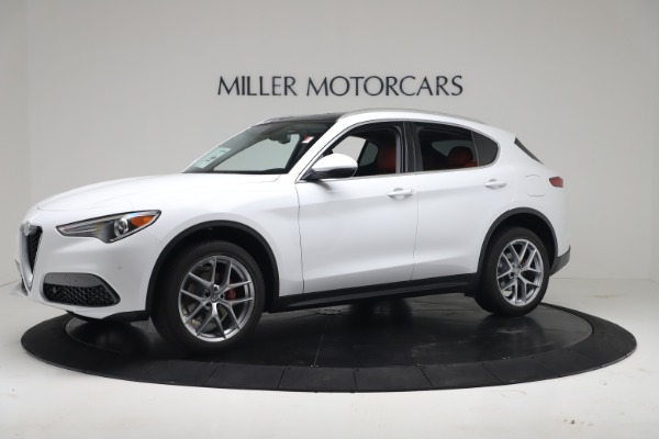 New 2019 Alfa Romeo Stelvio Ti Q4 for sale Sold at Alfa Romeo of Westport in Westport CT 06880 2