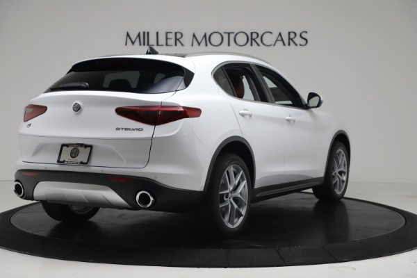 New 2019 Alfa Romeo Stelvio Ti Q4 for sale Sold at Alfa Romeo of Westport in Westport CT 06880 7