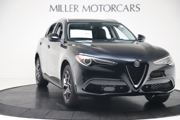 New 2019 Alfa Romeo Stelvio Ti Q4 for sale Sold at Alfa Romeo of Westport in Westport CT 06880 11