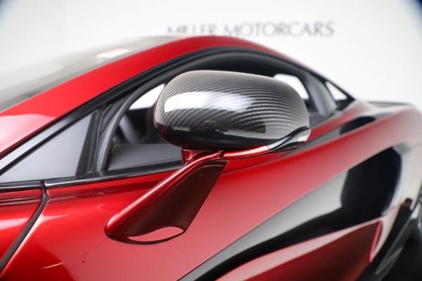 New 2019 McLaren 600LT for sale $285,236 at Alfa Romeo of Westport in Westport CT 06880 15