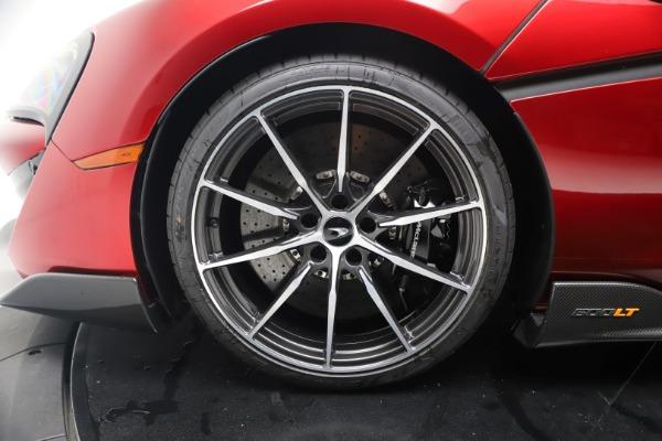 New 2019 McLaren 600LT Coupe for sale $285,236 at Alfa Romeo of Westport in Westport CT 06880 16