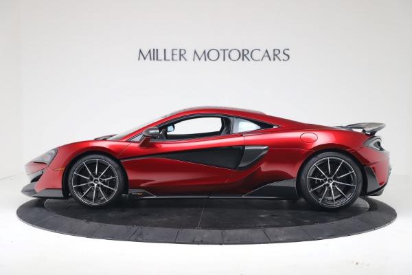 New 2019 McLaren 600LT Coupe for sale $285,236 at Alfa Romeo of Westport in Westport CT 06880 2