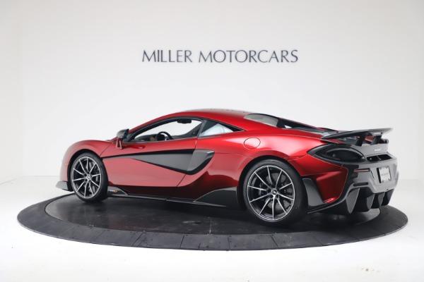 New 2019 McLaren 600LT Coupe for sale $285,236 at Alfa Romeo of Westport in Westport CT 06880 3