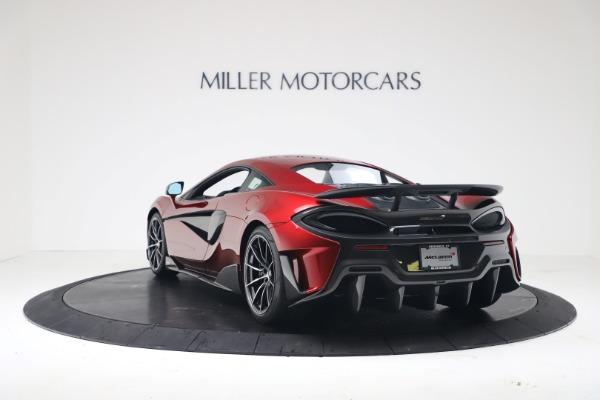 New 2019 McLaren 600LT Coupe for sale $285,236 at Alfa Romeo of Westport in Westport CT 06880 4
