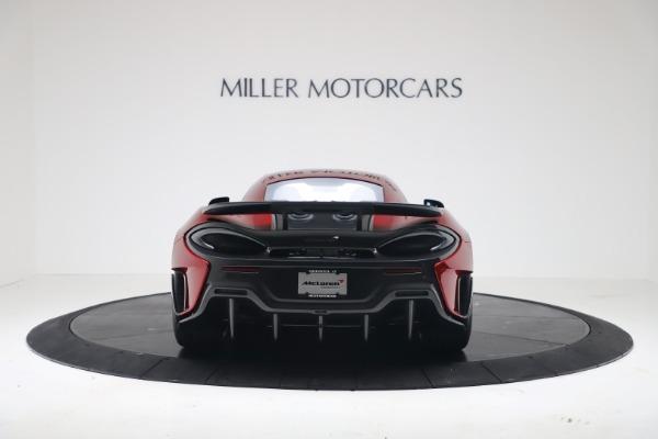 New 2019 McLaren 600LT Coupe for sale $285,236 at Alfa Romeo of Westport in Westport CT 06880 5